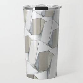 Pattern cubism Travel Mug