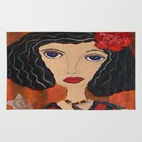 gypsy Area & Throw Rugs featuring GYPSY by Knittingandthings