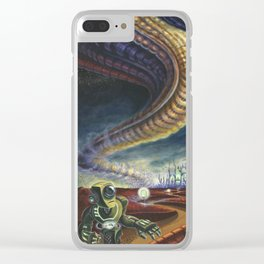 Halted Progress Clear iPhone Case