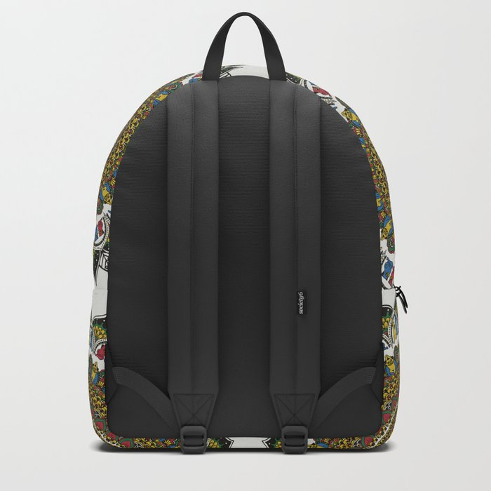 Pugs Yoga Mandala Backpack