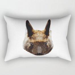 Kangaroo head from the front, Australia Rectangular Pillow