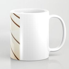 Wide Focus on Wood Coffee Mug