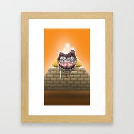 Hungry empire Framed Art Print