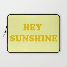 Hey Sunshine \\ Retro Summer Vibes Laptop Sleeve