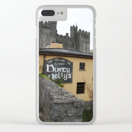 Durty Nellys And Bunraty Castle Clear iPhone Case