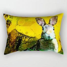 Flight or Fright Rectangular Pillow
