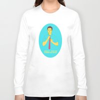 gravity Long Sleeve T-shirts featuring Gravity by Pulvis