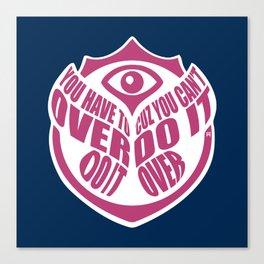 TomorrowWorld 2013 - Over Do It Canvas Print