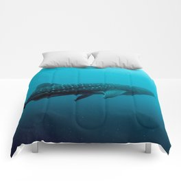 Whale shark juvenile Comforters