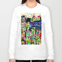 tokyo Long Sleeve T-shirts featuring tokyo by sladja