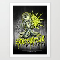 Störenfreak Art Print