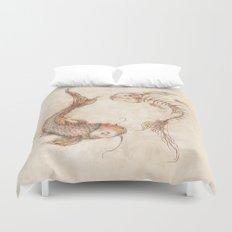 Yin Yang Fish Duvet Cover