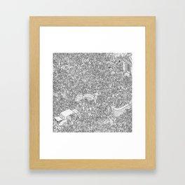 Outbreak! Framed Art Print