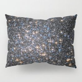 Glittery Starburst Pillow Sham