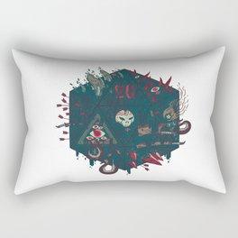 Die of Death Rectangular Pillow