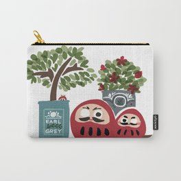 Daruma Art Carry-All Pouch