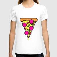 boyfriend T-shirts featuring pizza is my boyfriend by molly ennis