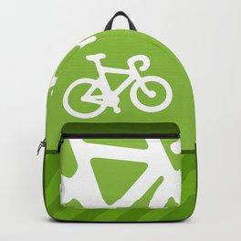 Green Bike Backpack