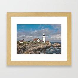 Port Head Lighthouse Framed Art Print