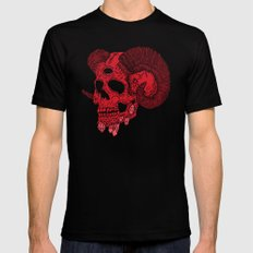 Damn Ram Black SMALL Mens Fitted Tee