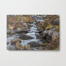 Scottish Falls Metal Print
