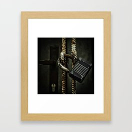 There is no way Framed Art Print