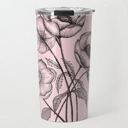 Palid Flowers  Travel Mug