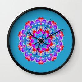 Color Harmony 3 Wall Clock