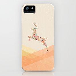 Christmas reindeer 5 iPhone Case