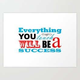 Fortune Cookie - on success Art Print