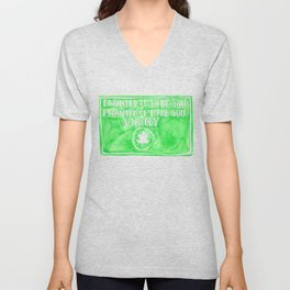You've Got Mail- I Wanted It To Be You So Badly Quote Unisex V-Neck
