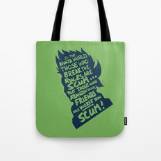 Will of Team 7 [Green] Tote Bag