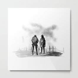The Meeting Metal Print