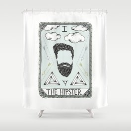 The Hipster Shower Curtain