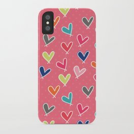 Blow Me One Last Kiss - Pink iPhone Case