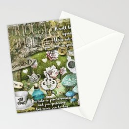 White Queen Stationery Cards
