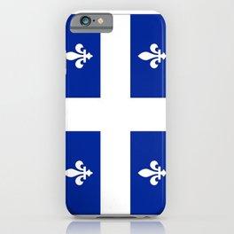 Flag of Quebec iPhone Case