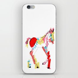 Baby horse colour iPhone Skin