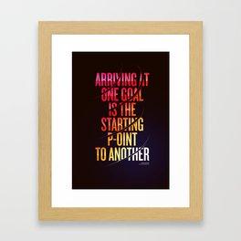 Lettering 002 Framed Art Print