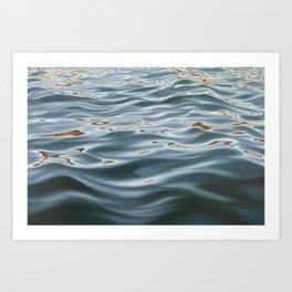Cache Lake Art Print