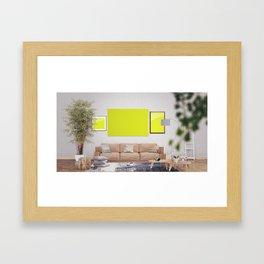Scene 5 Framed Art Print