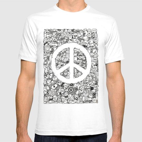 Peace Doodle T-shirt