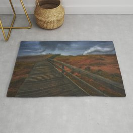 Wooden Path Rug