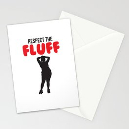 Respect the Fluff Stationery Cards