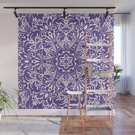 Ultra Violet home decor mandala Wall Mural