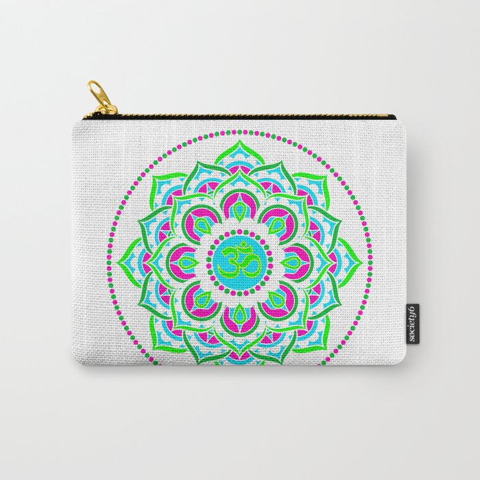 Spring Mandala | Flower Mandhala Carry-All Pouch