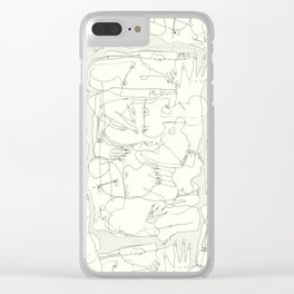 The Fallen Clear iPhone Case