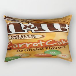 Carrot Cake M&M Rectangular Pillow