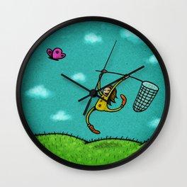 Butterfly01 Wall Clock