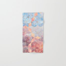 Magic Sky Cubes Hand & Bath Towel